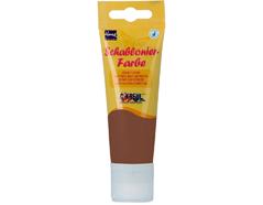 K74423 Pintura acrilica 3D brillante marron chocolate Home design