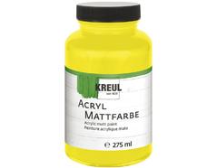 K75003 Pintura acrilica mate amarillo C Kreul