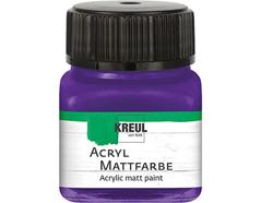 K75234 Pintura acrilica mate violeta Hobby line