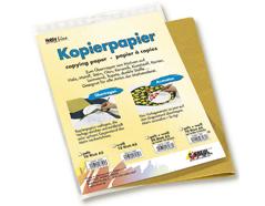 K7587 Papeles para transferir sobre ceramica oscura 21x30cm 5 hojas blancas y 5 hojas amarillas Hobby line