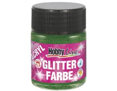 K76173 Pintura acrilica con purpurina verde Hobby line