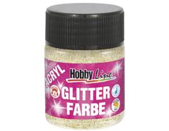 K76176 Pintura acrilica con purpurina oro Hobby line