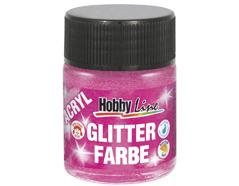 K76178 Pintura acrilica con purpurina rosa Hobby line