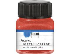 K77273 Pintura acrilica metalica rojo Hobby line
