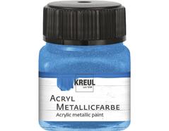 K77275 Pintura acrilica metalica azul Hobby line