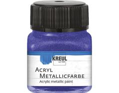 K77276 Pintura acrilica metalica violeta Hobby line