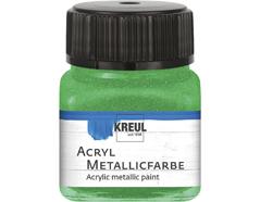K77277 Pintura acrilica metalica verde Hobby line