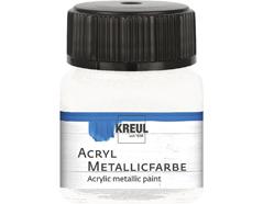 K77279 Pintura acrilica metalica blanco madreperla Hobby line