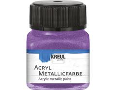 K77281 Pintura acrilica metalica lila Hobby line