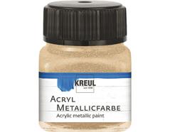 K77284 Pintura acrilica metalica champan C Kreul