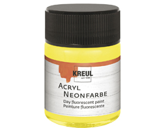 K77561 Pintura acrilica neon amarillo C Kreul