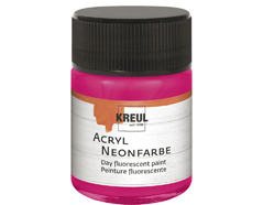 K77563 Pintura acrilica neon rosa C Kreul