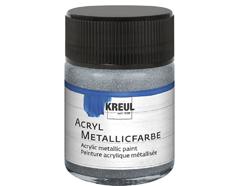 K77572 Pintura acrilica metalica plata Hobby line