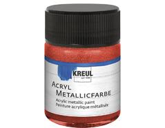 K77573 Pintura acrilica metalica rojo Hobby line