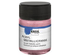 K77574 Pintura acrilica metalica rosa Hobby line