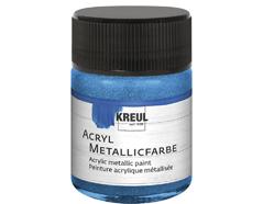 K77575 Pintura acrilica metalica azul Hobby line