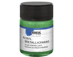 K77577 Pintura acrilica metalica verde Hobby line