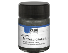 K77578 Pintura acrilica metalica antracita Hobby line