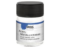 K77579 Pintura acrilica metalica blanco madreperla Hobby line