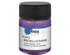 K77581 Pintura acrilica metalica lila Hobby line