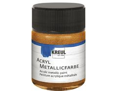 K77583 Pintura acrilica metalica bronce oro C Kreul