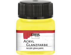 K79202 Pintura acrilica brillante amarillo claro Hobby line