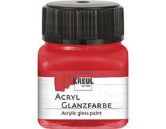 K79205 Pintura acrilica brillante rojo Hobby line