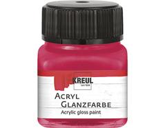 K79219 Pintura acrilica brillante rojo oscuro Hobby line