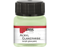 K79221 Pintura acrilica brillante verde suave Hobby line