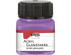 K79226 Pintura acrilica brillante lila Hobby line