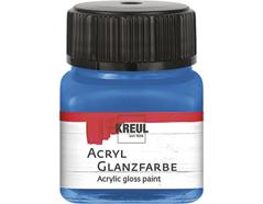 K79234 Pintura acrilica brillante azul Hobby line