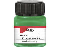 K79235 Pintura acrilica brillante verde oscuro Hobby line