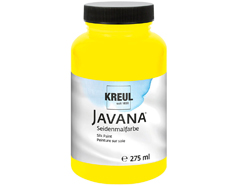 K8101-275 Pintura para seda amarillo primario Javana