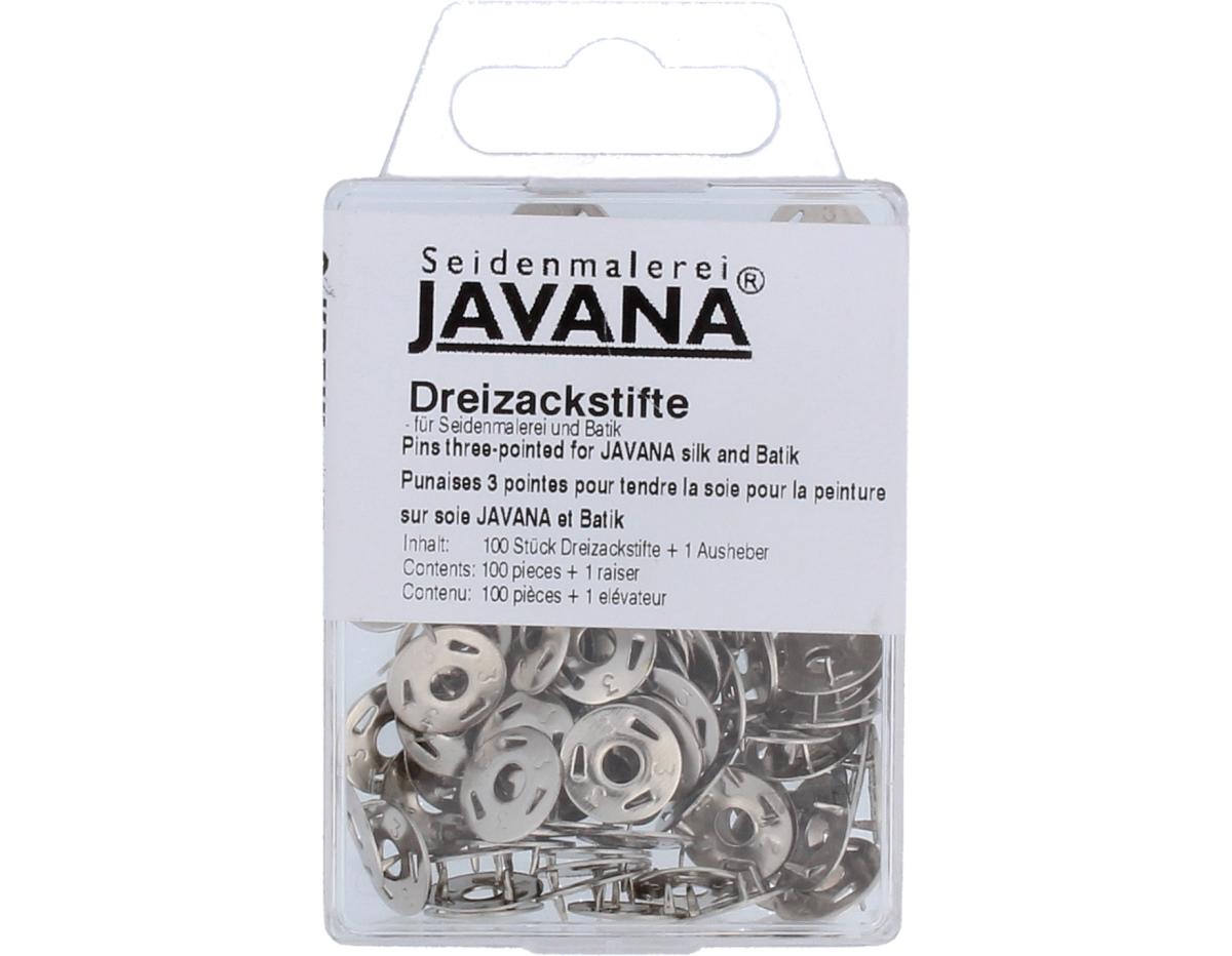 K810100 Chinchetas 3 puntas para seda Javana