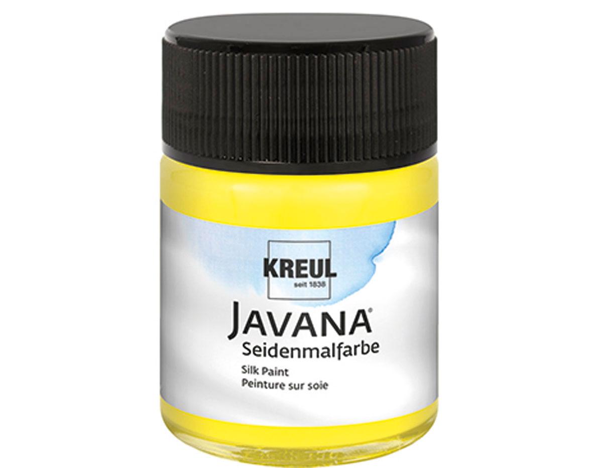 K8101 Pintura para seda amarillo primario Javana