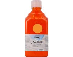 K8102-1LTR Pintura para seda naranja Javana