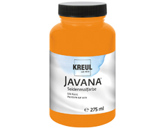 K8102-275 Pintura para seda naranja Javana