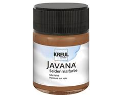 K8107 Pintura para seda marron Javana