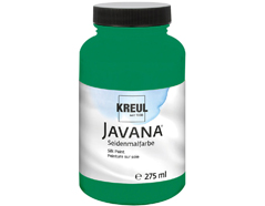 K8112-275 Pintura para seda verde oscuro Javana