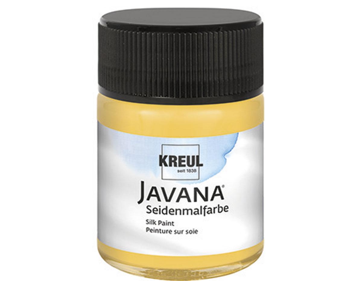 K8115 Pintura para seda amarillo oro Javana