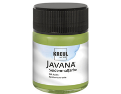 K8120 Pintura para seda verde oliva Javana