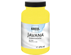 K8121-275 Pintura para seda amarillo limon Javana