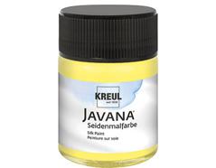 K8121 Pintura para seda amarillo limon Javana