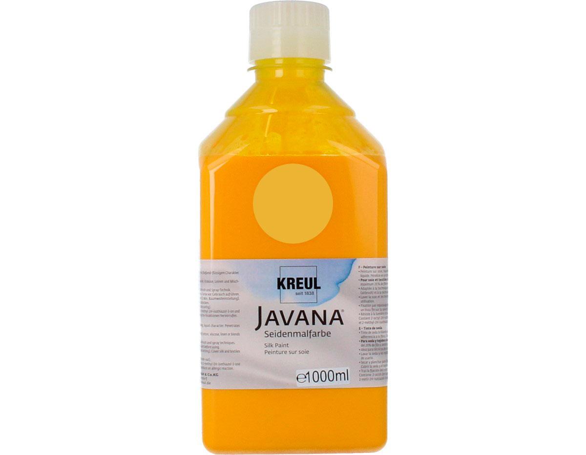 K8122-1LTR Pintura para seda amarillo sol Javana
