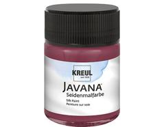 K8128 Pintura para seda carmesi Javana
