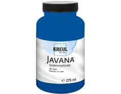 K8132-275 Pintura para seda azul real Javana
