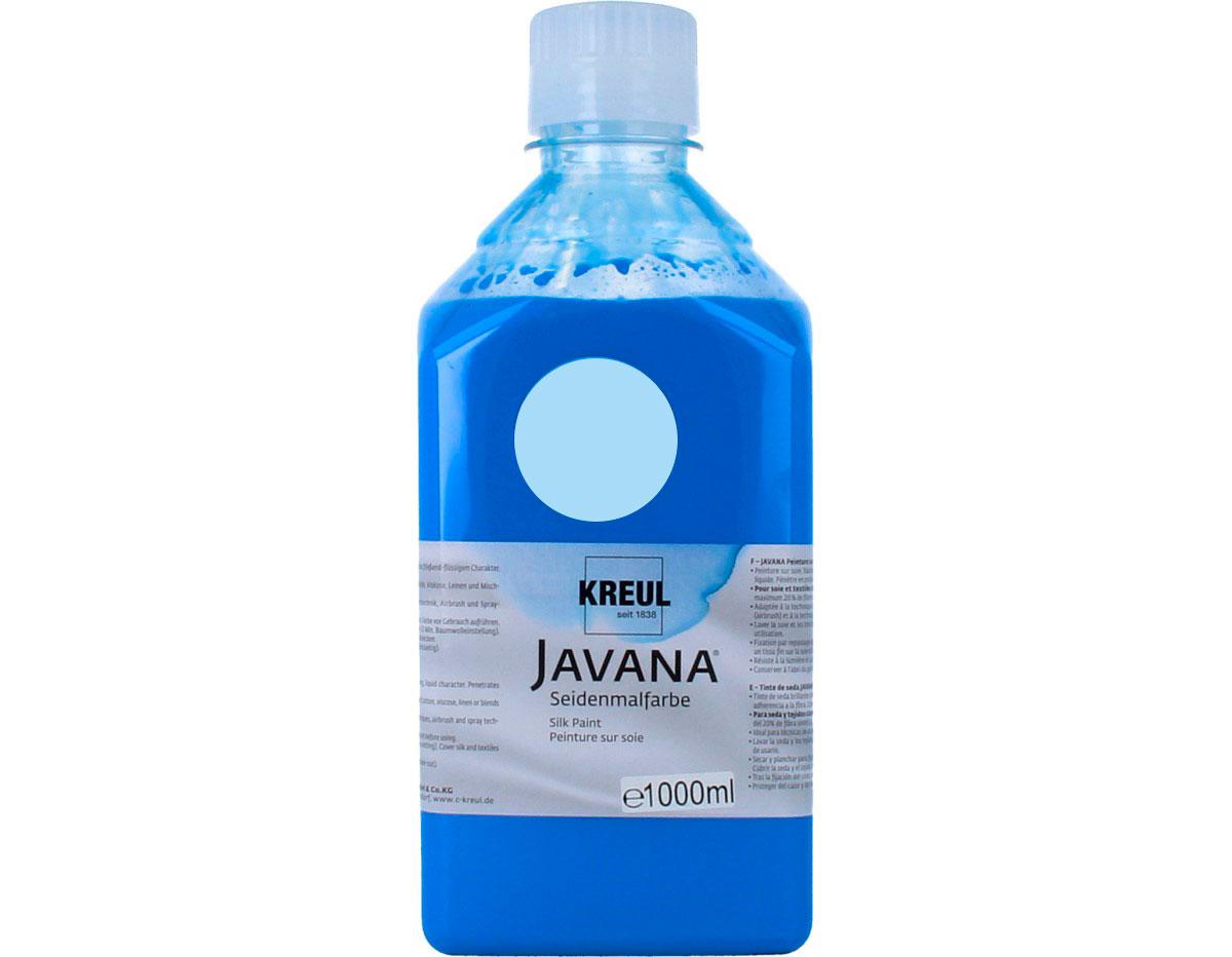 K8133-1LTR Pintura para seda azul cielo Javana