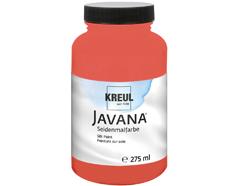 K8136-275 Pintura para seda rojo amarillo Javana