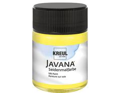 K8139 Pintura para seda amarillo fluor Javana