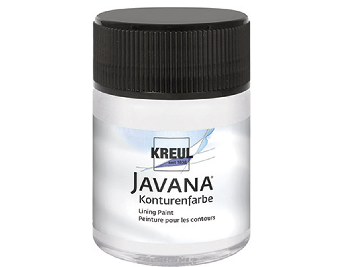 K814950 Guta efecto nacarado blanco madreperla Javana